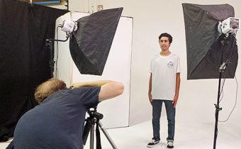 T-shirt catalog shoot phoenix photographer orcatek